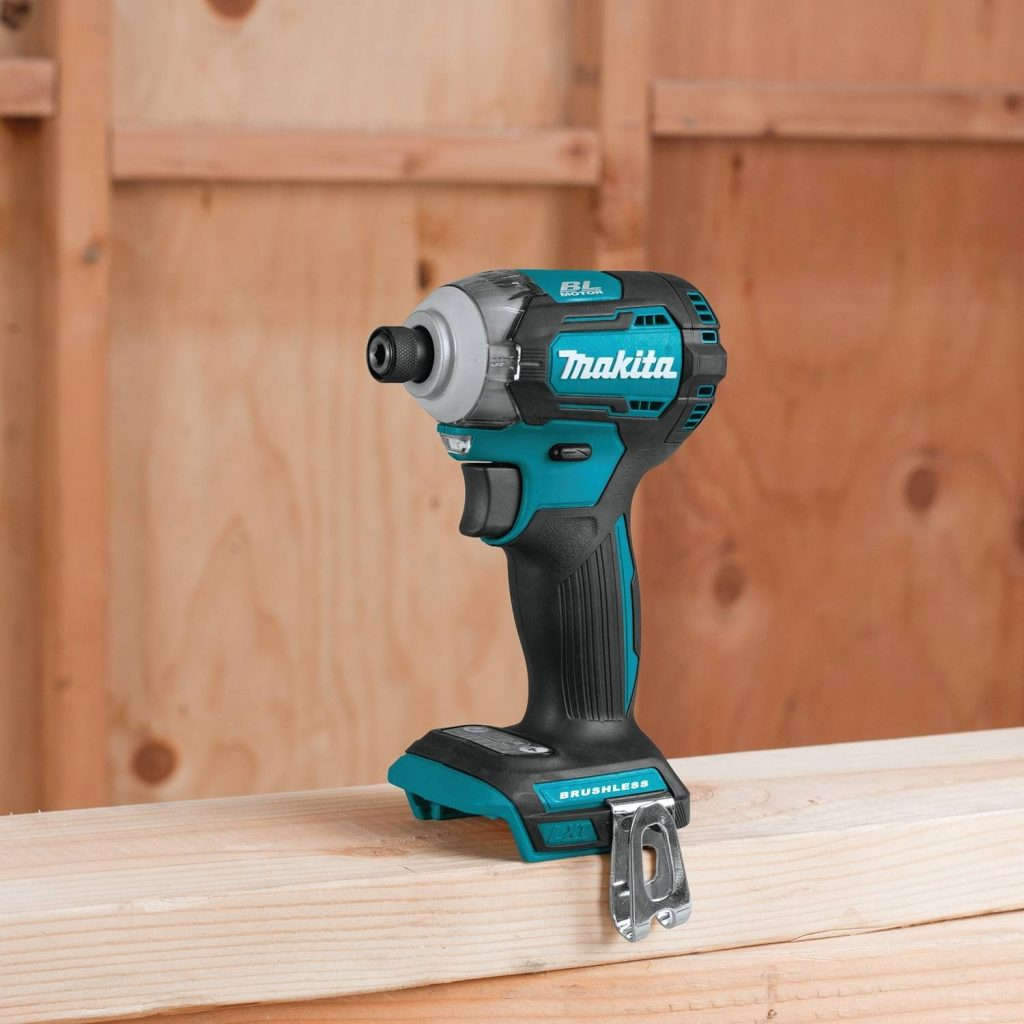 Makita XDT12Z 18V LXT Lithium-Ion Brushless Cordless Quick-Shift Mode 4-Speed Impact Driver, Tool Only