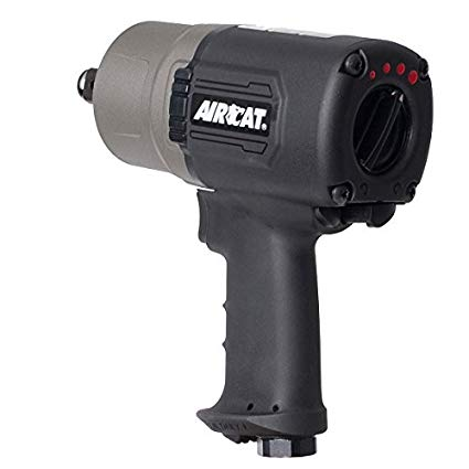 AIRCAT 1770-XL Super Duty Composite Impact Wrench, 3/4-Inch,Titanium/Grey