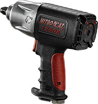 "Ingersoll Rand W7150 K1 ½"" Cordless Impact Wrench vs Nitrocat 1250-K Air Impact Wrench"