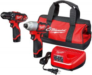 Milwaukee 2494-22 M12 Cordless Combination Drill
